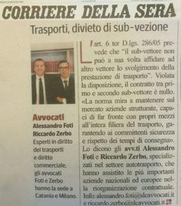 Corriere della Sera 30 maggio 2017